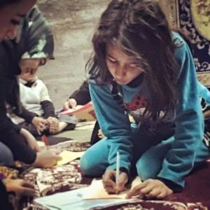 Peshmerga daughter - Kurdistan